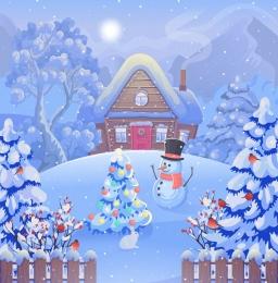 Купить Баннер праздничный зимний к Новому году в Беларуси от 15.00 BYN