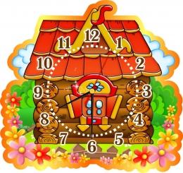 Купить Часы настенные кварцевые в группу Теремок 380*360 мм в Беларуси от 18.50 BYN