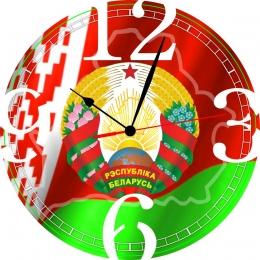 Купить Часы настенные кварцевые Беларусь 240*240 мм в Беларуси от 15.50 BYN