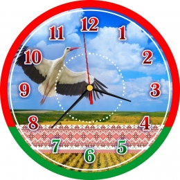 Купить Часы настенные кварцевые Беларусь 270*270 мм в Беларуси от 15.50 BYN
