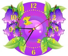 Купить Часы настенные кварцевые для группы Колокольчик  290*240 мм в Беларуси от 16.50 BYN