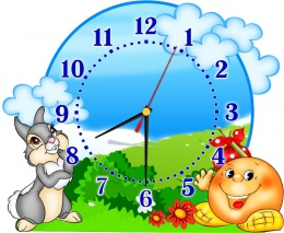Купить Часы настенные кварцевые для группы Сказка 390*310 мм в Беларуси от 17.50 BYN