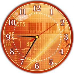 Купить Часы настенные кварцевые для кабинета информатики  250*250 мм в Беларуси от 14.50 BYN