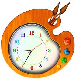Купить Часы настенные кварцевые Краски 430*440мм в Беларуси от 33.50 BYN