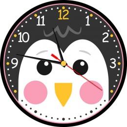 Купить Часы настенные кварцевые Пингвин 250*250 мм в Беларуси от 15.50 BYN