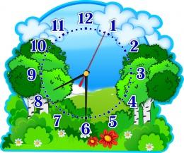 Купить Часы настенные кварцевые в группу Березка  380*320 мм в Беларуси от 17.50 BYN