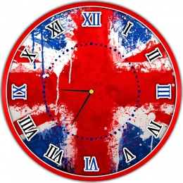 Купить Часы настенные кварцевые в кабинет иностранного языка  400*400 мм в Беларуси от 21.50 BYN