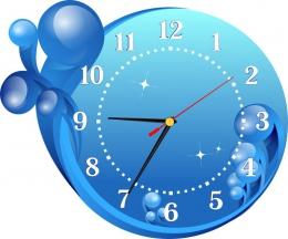 Купить Часы настенные кварцевые в морском стиле 300*260 мм в Беларуси от 16.50 BYN