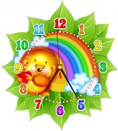 Купить Часы настенные кварцевые в стиле группы Добрые сердца 270*300 мм в Беларуси от 16.50 BYN