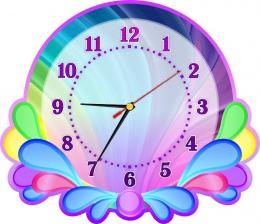 Купить Часы настенные кварцевые в стиле группы Карапузики 350*300мм в Беларуси от 17.50 BYN