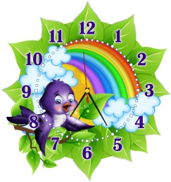 Купить Часы настенные кварцевые в стиле группы Ласточка 360*390 мм в Беларуси от 17.50 BYN