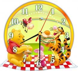 Купить Часы настенные кварцевые в стиле группы Мультяшки 270*250мм в Беларуси от 16.50 BYN