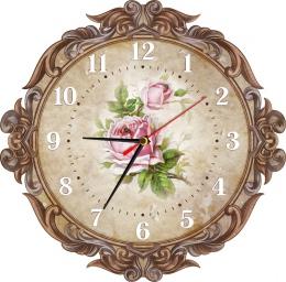 Купить Часы настенные кварцевые в Винтажном стиле 310*310 мм в Беларуси от 16.50 BYN