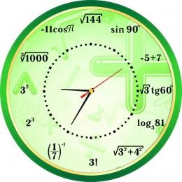 Купить Часы в кабинет математики 400*400 мм в Беларуси от 22.00 BYN