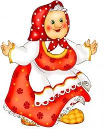 Купить Фигурный двухсторонний элемент для оформления детской площадки и группы  герои сказок Бабка 480*620 мм в Беларуси от 50.00 BYN