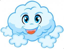 Купить Фигурный элемент Облачко для оформления детской площадки и группы 400*310 мм в Беларуси от 14.00 BYN