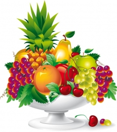 Купить Фигурный элемент Ваза с фруктами 400*450 мм в Беларуси от 22.00 BYN