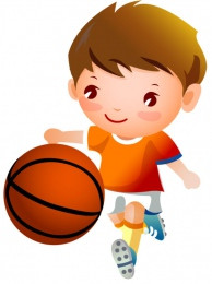 Купить Фигурный односторонний элемент Виды спорта - Баскетбол  370*500мм в Беларуси от 22.00 BYN