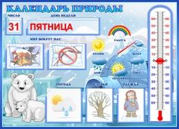 Купить Календарь природы для группы Умка уменьшенный 510*370 мм в Беларуси от 32.06 BYN