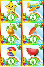 Купить Карточки для стенда Мы дежурим группа Семицветик 30 шт. в Беларуси от 11.00 BYN