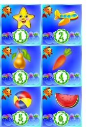 Купить Карточки для стенда Мы дежурим группа Золотая рыбка 30 шт. 95*95мм в Беларуси от 11.00 BYN