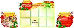 Купить Комплект из 3-х стендов Уголок питания 2270*860 мм в Беларуси от 200.00 BYN