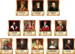 Купить Комплект стендов портретов Князья Великого княжества Литовского 250*300 мм в Беларуси от 104.00 BYN