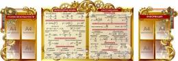 Купить Композиция для кабинета физики в стиле стимпанк  2900*1000 мм в Беларуси от 341.00 BYN