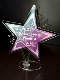 Купить Награда Звезда с односторонней печатью 150*170 мм в Беларуси от 9.00 BYN