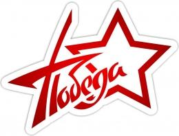 Купить Наклейка Победа в форме звезды 500*380 мм в Беларуси от 8.00 BYN