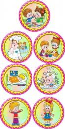 Купить Наклейки на двери в детский сад ,размер 150х150 мм в Беларуси от 12.00 BYN