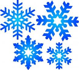 Купить Наклейки на стенды Снежинки 21 шт в Беларуси от 8.00 BYN