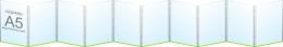 Купить Папка-передвижка на 10 вертикальных карманов А5 в Беларуси от 29.70 BYN