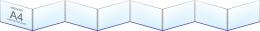 Купить Папка-передвижка на 8 горизонтальных карманов А4 в Беларуси от 41.80 BYN