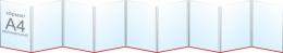 Купить Папка-передвижка на 9 вертикальных карманов А4 в Беларуси от 46.80 BYN