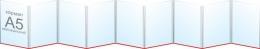 Купить Папка-передвижка на 9 вертикальных карманов А5 в Беларуси от 26.90 BYN