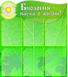 Купить Стенд Биология - наука о жизни! в кабинет биологии 750*850мм в Беларуси от 92.00 BYN