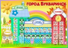 Купить Стенд Букваринск 850*600 мм в Беларуси от 59.00 BYN