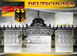 Купить Стенд DEUTSCHLAND в кабинет немецкого языка 970*710 мм в Беларуси от 87.90 BYN