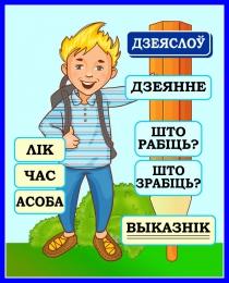 Купить Стенд Дзеяслоў для начальных классов на белорусском языке 420*520мм в Беларуси от 25.00 BYN