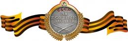 Купить Стенд Фигурный  Медаль За боевые заслуги на фоне георгиевской ленты 330*1000мм в Беларуси от 40.00 BYN