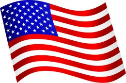 Купить Стенд  Флаг Америки в кабинет английского языка  330*310мм в Беларуси от 12.00 BYN