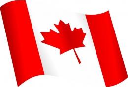 Купить Стенд  Флаг Канады в кабинет английского языка 330*310 мм в Беларуси от 13.00 BYN