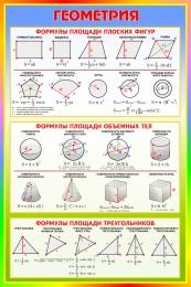 Купить Стенд Геометрия  630*940 мм в Беларуси от 65.00 BYN