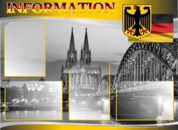 Купить Стенд INFORMATION в кабинет немецкого языка 970*710 мм в Беларуси от 85.00 BYN