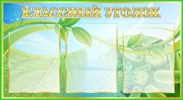 Купить Стенд Классный уголок  для кабинета биологии 800*440мм в Беларуси от 45.50 BYN