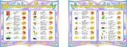 Купить Стенд-композиция Логопедическая зарядка из 2-х частей группа Бабочки в Беларуси от 35.00 BYN