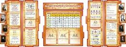 Купить Стенд Матэматыка вакол нас с расширенными формулами на белорусском языке 2506*957 мм в Беларуси от 288.30 BYN