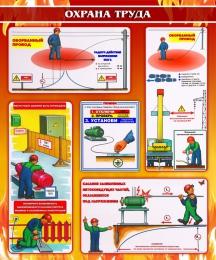 Купить Стенд Охрана труда 1000*1200мм в Беларуси от 138.00 BYN