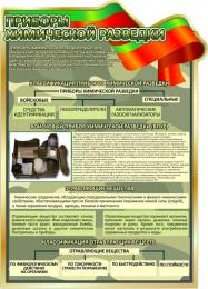 Купить Стенд Приборы химической разведки 680*950 мм в Беларуси от 74.00 BYN